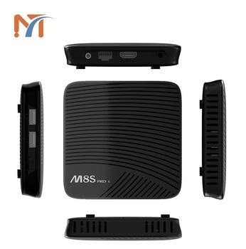 Mecool M8s Pro L 4k Tv Box Amlogic S912 Bt 4 1 + Hs - 3gb Ram + 16gb Rom  With Standard Remote Controller - Buy Tv Box M8s Pro L,Amlogic 912,Octa  Core