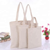 Promotional Custom Logo Printed Organic Calico Cotton Canvas Tote Bag