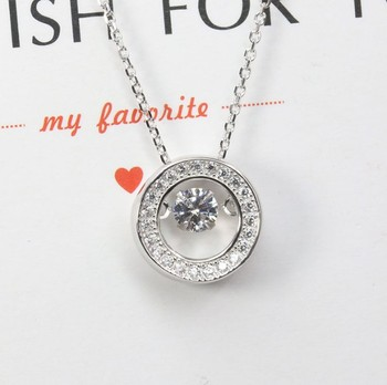 Wholesale 925 sterling silver dancing stone pendant p20177 buy wholesale 925 sterling silver dancing stone pendant p20177 aloadofball Images