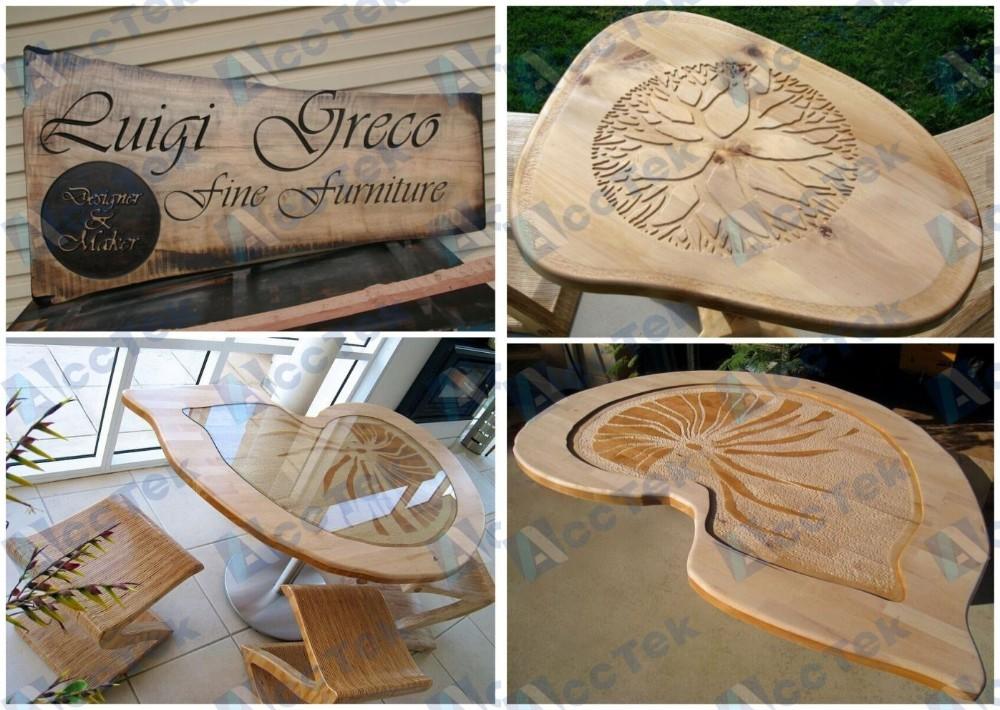 ACCTEK high speed 2030 big size cnc wood carving door router