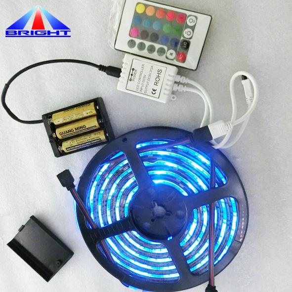 ShenZhen LED Manufacture 5V 5050 RGB LED Ribbon 26leds TV Backlight LED USB
