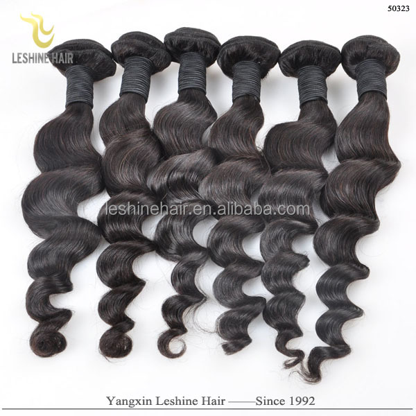 Large Stock Five Texture No Shedding No Tangle Cheap Pice remi and virgin human hair export in india