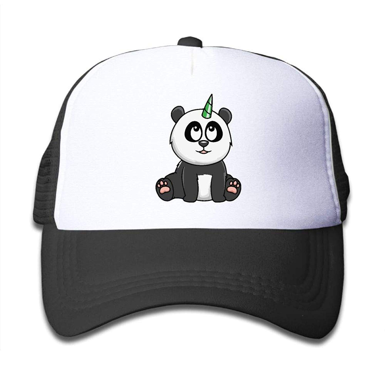 f785375c9b561 Get Quotations · Panda Bear Unicorn On Kids Trucker Hat