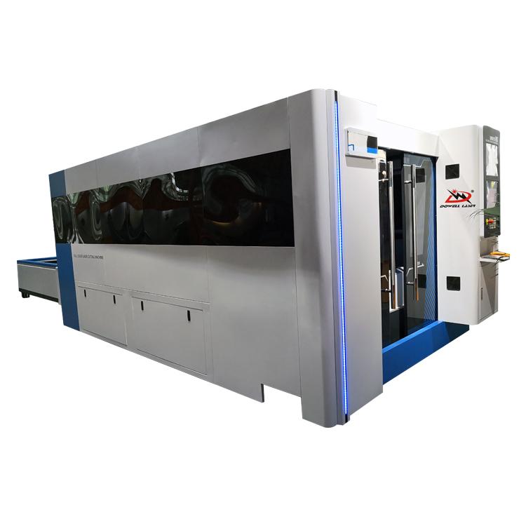 Metal panel cutting fiber laser cutting machine cnc automatic for metal