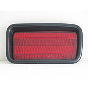 Crash Parts Plus NSF MI1184101 Left Bumper Reflector for 99-04 Mitsubishi Montero Sport
