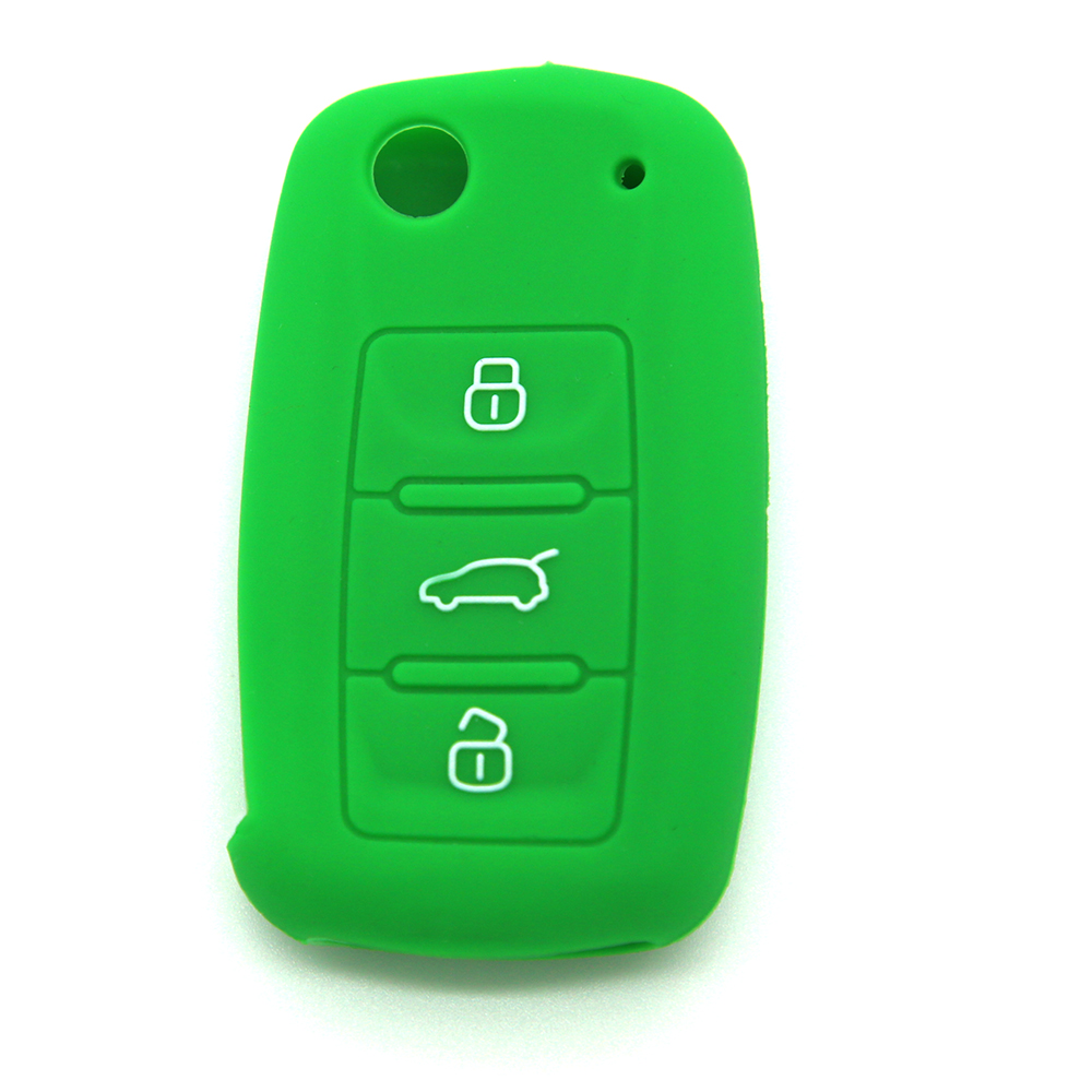 Custom cheap silicone <strong>rubber</strong> for Volkswagen best plastic car key protector case