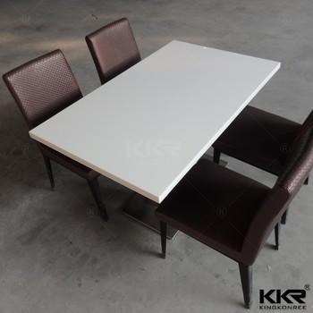 White Marble Restaurant TabletopsGlossy White Restaurant Tabletops - White marble restaurant table tops