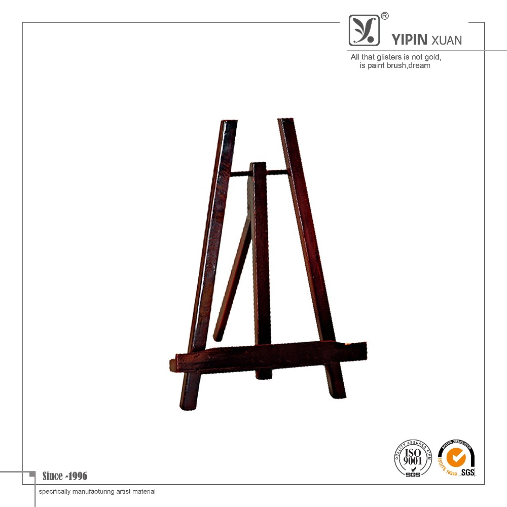 Wholesale 2015 Hot Selling 22.5*6*31.5cm Mini Wood Painting Easel Stand