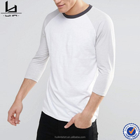 online shopping india men clothing 100% cotton stone color 3/4 sleeve raglan t-shirt