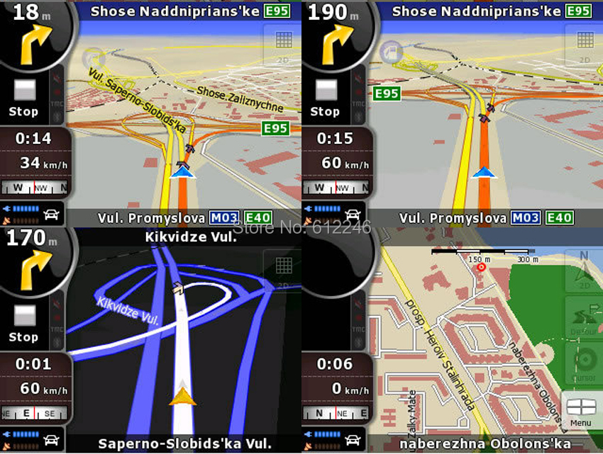 Newest iGO Primo 8 Car DVD GPS MAP card with USA CA europe Australia New  Zealand Russia Israel Brazil map for wince or android system