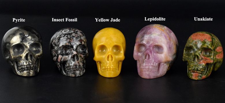 Wholesale amethyst quartz crystal skull for sale natural
