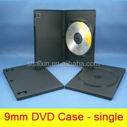 black single/double 9mm x box game dvd secure case