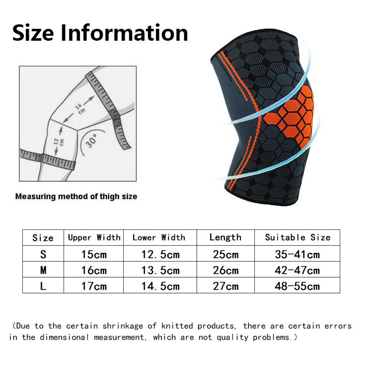 HYL-8381B 2018 Hot selling copper knee brace straps