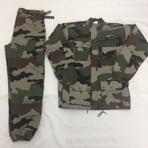 Men's camoflage tactical military FR uniform