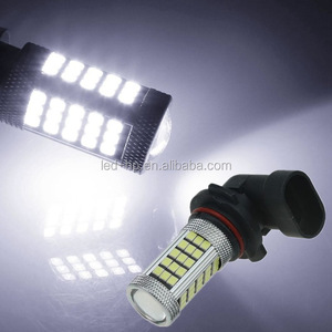 63SMD 2835 H4 H7 H8 H11 9005 9006 White Green Red Fog Light For Car