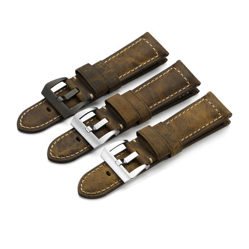 26 24 22 20mm mm mm mm Retro Artesanal Italiano Calf Leather Watch Strap Banda para Panerai PAM Do Vintage