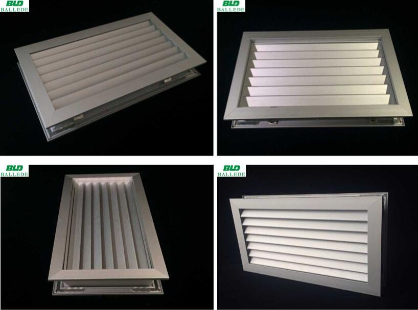 ventilation aluminum air grilles for cabinet