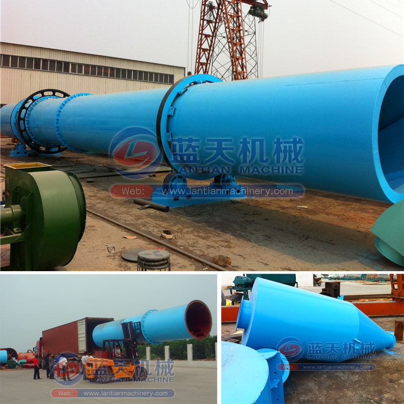 Continuous Rotary Salt Dryer Machine