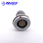 MOCO industrial socket EGG multipole 1B 2/3/4/5/6/7/8/10/14/16pins Use in engineering survey push pull connector