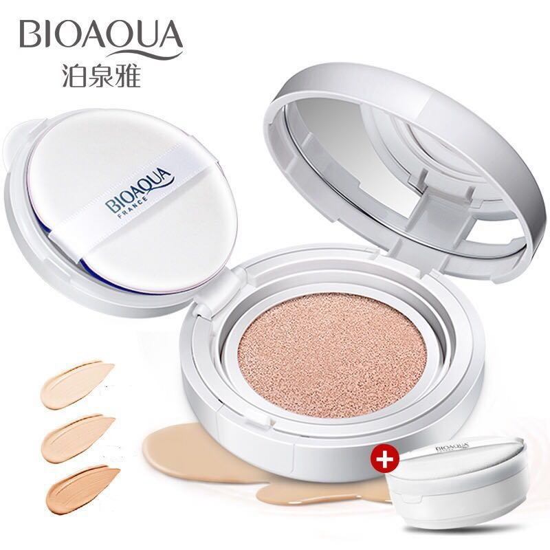 Professionele luchtkussen bb/cc crème natte poeder cosmetica foundation make up bb gezicht poeder