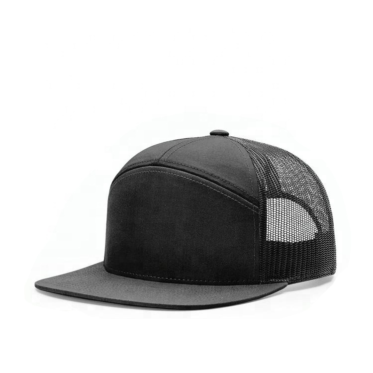 Wholesale High Quality Custom 7 Panels Plain Sport Snapback <strong>Caps</strong> Mesh Trucker Hats Trucker <strong>Caps</strong> for Men