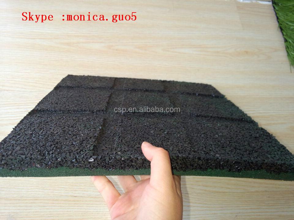 China rubber vloeren voor buiten speeltuin gebruikt sportschool
