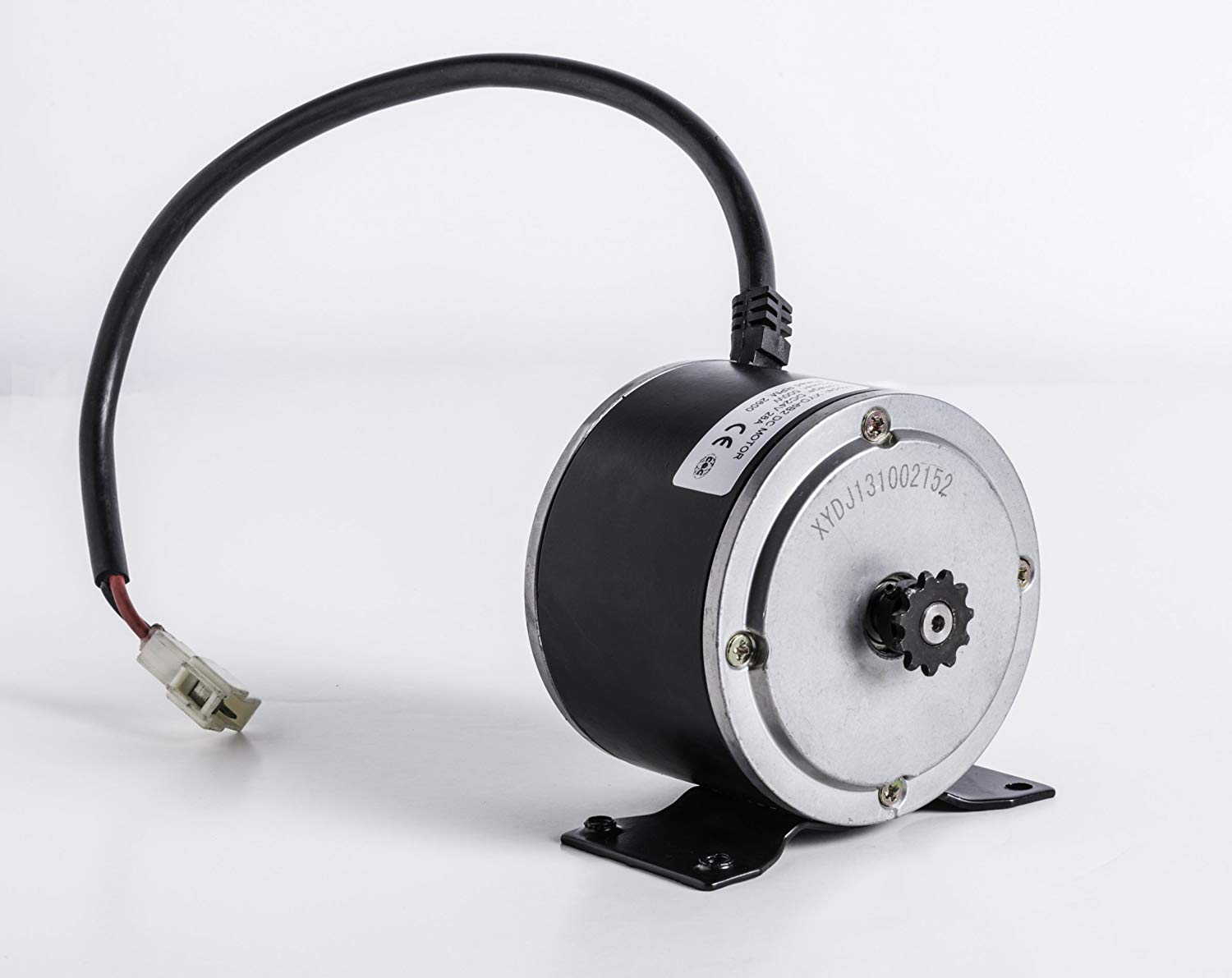 Electric Scooter Motor Currie Technologies 24 Volt 500 Watt DC for 500 Series Schwinn & IZIP Reversible with 11 Tooth Sprocket #25 Chain Model Numbers XYD-6B SD-156 XYDJ130601664