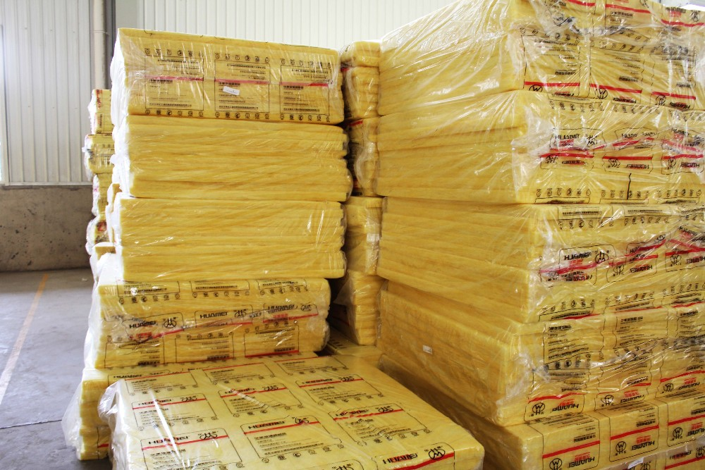 Thermal insulation eco-freindly Fiberglass Wool acoustic glass wool board