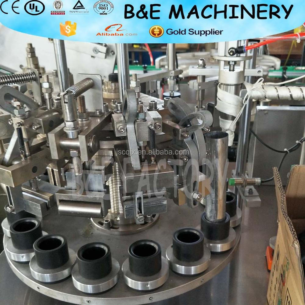 industrial supplier high viscosity fluid material/Toothpaste/cosmetics/tube ointment/cream filling sealing machine