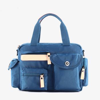 074560ead455 Popular Japanese style foldable women big nylon handbags cheap designer  handbags