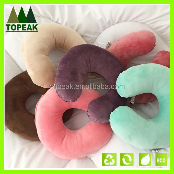 High Quality U Shape Memory Foam Pillow Neck Pillow Travel Pillow