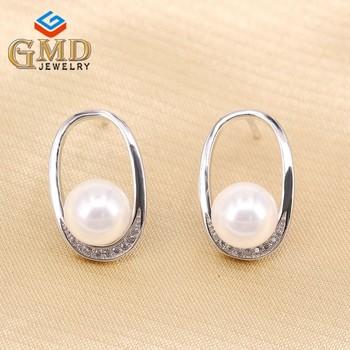 b7349d830291 OEM joyería hermosa mujer elegante plata esterlina barato pendientes  diamante
