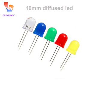 10mm dip through hole diffused light led diodes