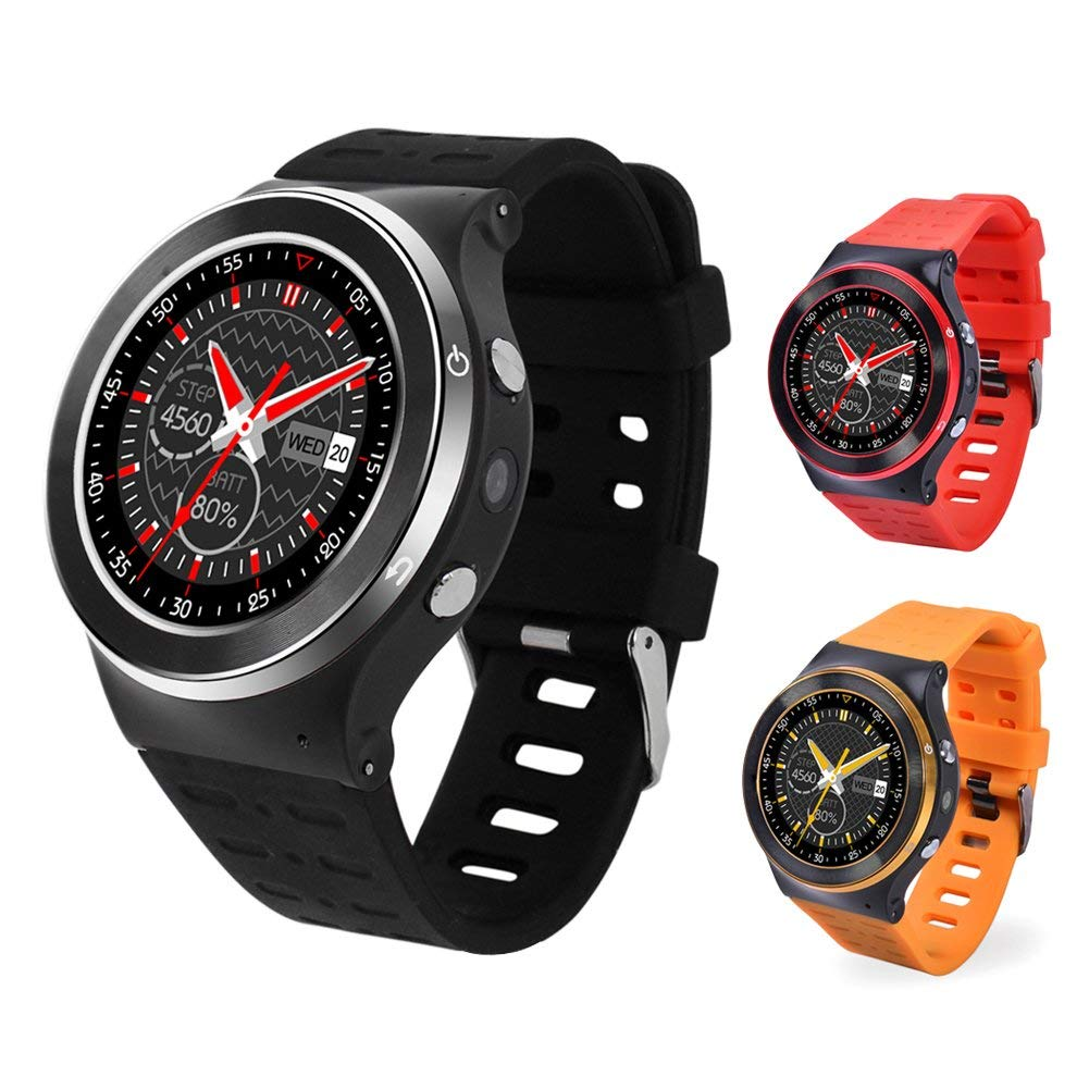 ERTIANANG New MTK6580M S99 GSM 3G Quad Core Android 5.1 Smart Watch With 5.0 MP Camera 8G App GPS WiFi Bluetooth V4.0 Pedometer