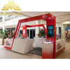 free bule print design with shopping mall faster attractive 3D max design cell phone display case