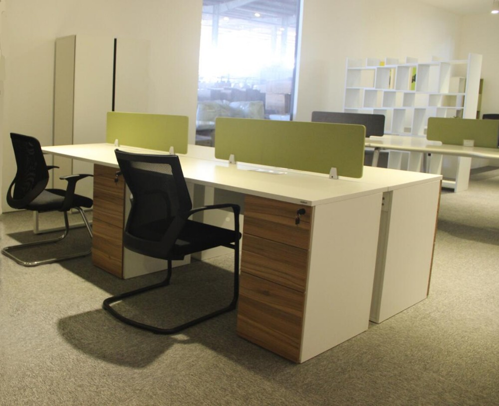 Modern office furniture person workstation with