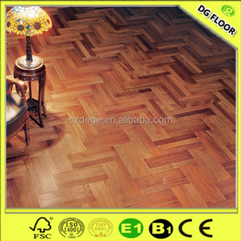 class32 herringbone parquet merbau wood laminate flooring. Black Bedroom Furniture Sets. Home Design Ideas