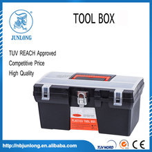 CE certificate 16.5 inch plastic Tool box with hasp lock