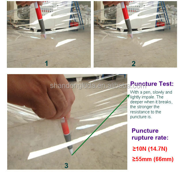 Super power mechanical stretch film