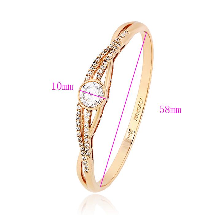 51101-1 Rose Gold Bangles Latest Designs 10 Gram Price Bangle - Buy ...