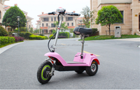 2016 new red scooter folding citycoco electric tricycle safe and convenient three rounds electric bicyectric three wheel scooter