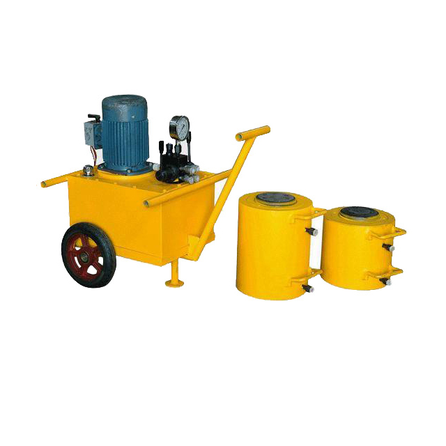 Quarrying Stone Pushing Tools Hydraulic Jack Machine