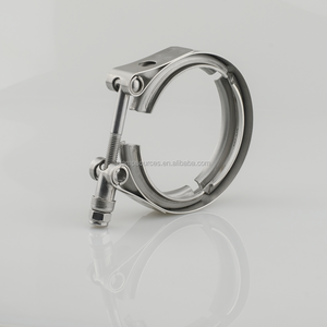 "3.5"" high quality v band exhaust clamp for cars"