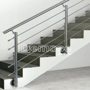 interior stainless steel iron stair handrail/railings price