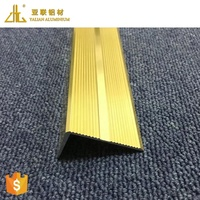 OEM different gold/sliver/wooden aluminium profile connector bevel threshold, aluminium profile corner joint