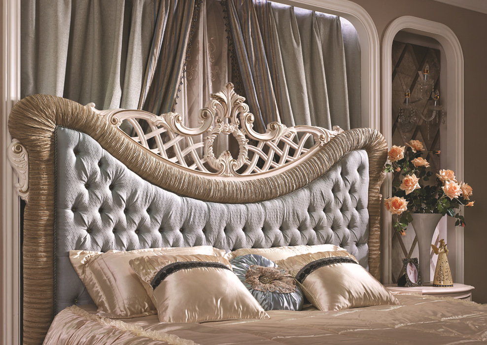 Royal Luxury bedroom set, classic french elegant bed,Romantic ...