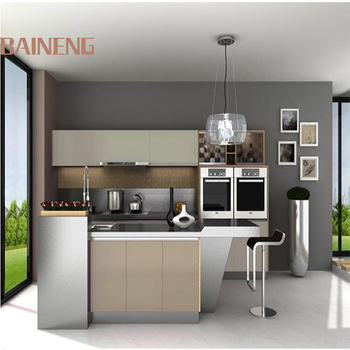 Display Modern Lacquer Stainless Steel Modular Kitchen Cabinets For Sale  With Whole Set Stainless Steel Kitchen Utensils - Buy Stainless Steel  Kitchen ...