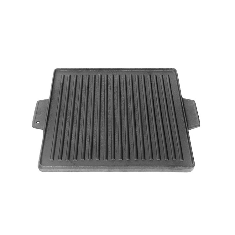 Cast Iron BBQ griddle Plate Hot Plate Pan