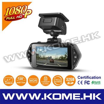 Kome Cr500s In Car Cam Taxi Drive Security Dash Wireless Spy Cctv