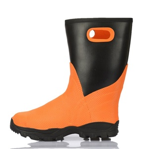 Professional Cold Storage Boot Low Temperature Use Ice Fishing Boot Winter Rubber Safety Boot For Men